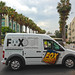 20th Century Fox Studios Zero Emissions Mail Van - Century City, CA