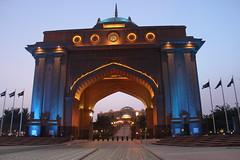 Emirates Palace Hotel Main gate (prasanth020) Tags: abudhabi