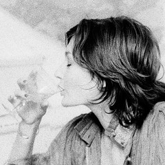 Kate with wine glass (jonathan charles photo) Tags: portrait bw art topf25 1974 photo wine jonathan charles 1970s jonathancharles chercherlafemme