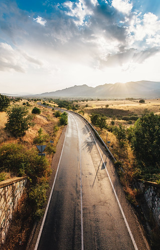Soto del Real - Road