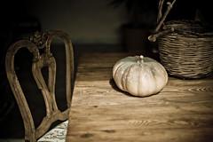 Summer family (Lla (like a bu stone)) Tags: family summer pumpkin table chair estate famiglia sicily tradition sedia sicilia zucca tavola tradizione donnalucata iolandacarollo