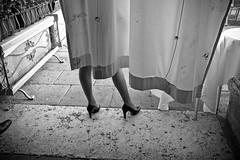 heels (99streetstylez) Tags: x100s fuji feet high heels women woman street venice nylons stockings sexy shoes 99streetstylez photography monochrome 35mm candid