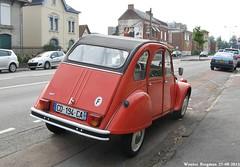 Citroën 2CV (Wouter Bregman) Tags: auto old france classic car vintage french automobile citroën voiture 2cv frankrijk eend geit ancienne 2pk 2cv6 citroën2cv française deuche maubeuge