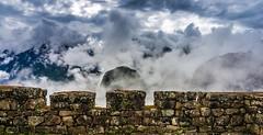 Machu Picchu clouds