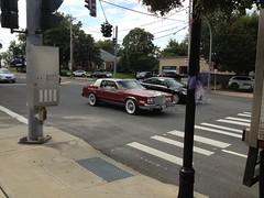 1979-85 Cadillac Eldorado (William Rubano) Tags: white el cadillac eldorado 80s 70s walls pimp eldo pimpmobile eg redcars