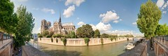 The old lady of Paris Notre-Dame Cathedral (Sizun Eye) Tags: notredame paris france blinkagain eltringexcellence panorama sizuneye cathedral panoramic