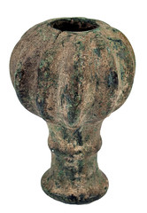 Sadigh Gallery's Ancient Mesopotamian Bronze Mace Head (Sadigh Gallery) Tags: ancientweapons ancientmesopotamia ancientbronze macehead mesopotamianartifacts sadighgallery