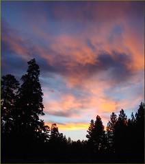 cowboys oregon sunrise cascades western ponderosapine sistersor coloredclouds ponderosalodge dgrahamphoto