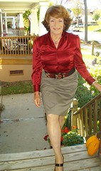 My Business Woman Look (Laurette Victoria) Tags: auburn businesswoman blouse laurettevictoria laurette milwaukee pencilskirt skirt wisconsin woman porch