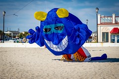 Kite Flying Event At Alantic Beach NC (Marc_714) Tags: kite color nc colorful northcarolina atlanticbeach marc714
