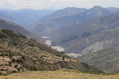 The Rio Pampas valley, south of Vilcashuaman