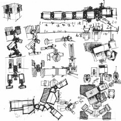 More bits (m_o_n_k_e_y) Tags: lego robots scifi sketches mecha