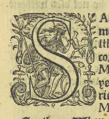 Image taken from page 53 of '[The garden of eloquence, etc.]' (The British Library) Tags: small letters initials publicdomain vol0 page53 historiatedinitials bldigital vision:text=0623 mechanicalcurator pubplacelondon date1593 vision:outdoor=0922 sysnum002802722 peachamhenrytheelder imagesfrombook002802722 imagesfromvolume0028027220