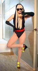 Lady GaGa - Black and Blonde Photoshoot (Darlan_cc) Tags: berlin celebrity sunglasses deutschland musiker kultur fulllength international vip musik society medien sonnenbrille personen bekannte prominente helfigur ganzfigur prominenz singerladygaga