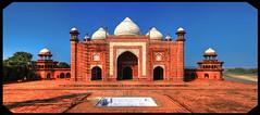 Agra IND - Jawab Taj Mahal west side 03