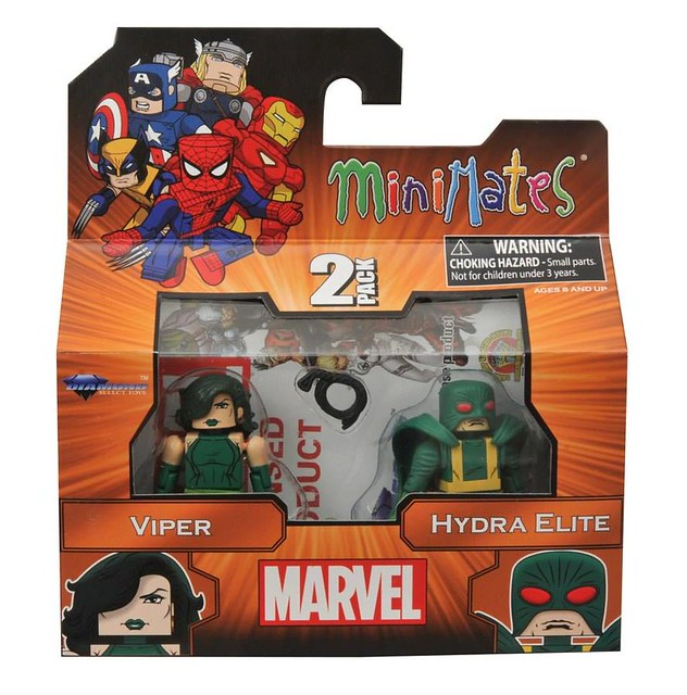 Marvel Minimates Series 54【美國隊長】Captain America