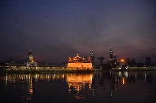 Golden Temple at Dawn