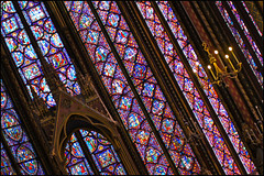sainte-chapelle ..... paris (ana_lee_smith) Tags: travel windows paris france tourism church glass photography chapel stained beercan restoration eglise saintechapelle iledelacite louisix consecrated 1248 floortoceiling minoltaaf70210mm sonyslta33