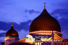 Kapitan Keling Mosque at Dusk (Altai World Photography) Tags: world colour heritage town george site asia dusk south religion mosque georgetown crescent unesco east malaysia penang southeast mys kapitan keling