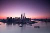 Lujiazui (HIKARU Pan) Tags: city horizontal skyline sunrise landscape photography asia cityscape shanghai aerialview wideangle landmark pudong lujiazui huangpuriver china1 orientalpearltvtower 1dx canonef1635mmf28liiusm eos1dx