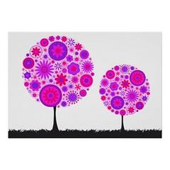 Flower Wishing Tree Purple Posters (Photography By Pixie) Tags: flower tree print poster photography purple fineart posters wishing