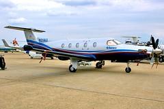 N21AU  PC-12 (RedRipper24) Tags: andrews pilatus pc12 generalaviation adw bizjets businessjets kadw n21au andrewsafbairshow andrewsafbairshow2008