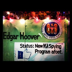 From @Kreweofmuses #NSA #FBI #Fedbook #MardiGras float #StopTheNSA