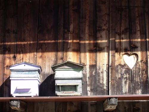 Le Bersend, ruches - © D.Dereani, Fondation Facim