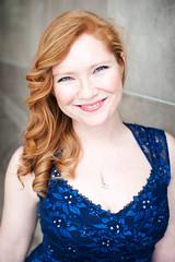 Danielle S. (rossman181) Tags: blue red girl ball opera dress shot head headshot singer gown