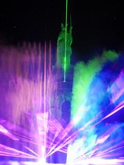 P1310876 Der Hermann leuchtet - LightArt 2014 (tottr) Tags: night march nacht laser lasershow lightshow märz hermann teutoburgerwald lightart 2014 detmold lippe hermannsdenkmal teut grotenburg teutberg derhermannleuchtet hermannleuchtet uweacker
