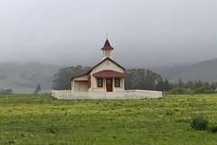 san simeon schoolhouse (minicooper93402) Tags: california rain sansimeon centralcoast schoolhouse sanluisobispo