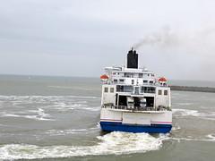 Daar gaat een andere ferry