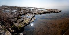 Lake Erie at Rock Point (Kiril Strax) Tags: panorama lake ontario lakeerie greatlakes rockpointprovincialpark rockpoint