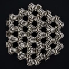 Tetrahedron Corner Lattice (Mathnetism) Tags: corner magnets zen lattice tetrahedron neodymium