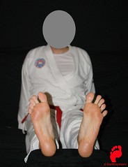 DSC00035 (footboymarc) Tags: sexy male feet martial arts fighters soles