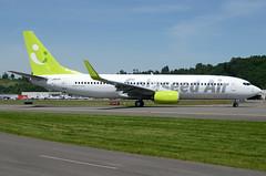 Solaseed Air JA810X (Drewski2112) Tags: seattle county field airport king air international boeing 737 737800 bfi kbfi b738 solaseed ja810x