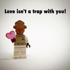 Love isn't a trap with you! #starwars #lego #love #heart #minifig #valentine #valentinesday #geek #nerd (betsyweber) Tags: love nerd square starwars day geek heart lego valentine card squareformat valentines iloveyou minifig caring minifigs care ludwig valentinesday may4 starwarsday usetheforce minifigures may4th maytheforcebewithyou maythefourthbewithyou iphoneography instagramapp uploaded:by=instagram forcefriday