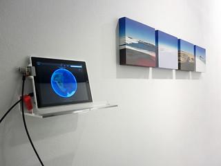 Julio Sarramián - Naturaleza hiper-transfronteriza (obra en sala - Galería Blanca Soto)