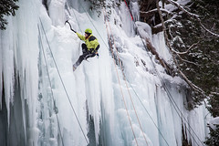 Ice fest 2015 III (TheSpencermiller) Tags: winter lake snow cold ice nature rock canon eos frozen rocks frost michigan pictured superior adventure climbing national shore fest pure munising 6d 2015