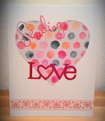 Sending Love (Djspaper) Tags: valentinescard papertreyink kaisercraft washitape simonsaysstamp mftdienamics