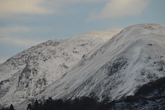 Mountain Peaks above Glenridding (CoasterMadMatt) Tags: uk greatbritain winter england mountain snow mountains english landscape countryside town nikon scenery village view natural photos unitedkingdom britain snowy district hill lakes lakedistrict january scenic scene hills photographs covered cumbria views gb british hamlet thelakes snowcovered glenridding thelakedistrict nikond3200 2015 d3200 coastermadmatt january2015 coastermadmattphotography glenridding2015