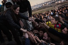 Special Envoy Angelina Jolie in Iraq (UNHCR) Tags: children se tents iraq middleeast angelinajolie help aid jolie protection assistance mena unhcr idps specialenvoy khanke unrefugeeagency unitednationsrefugeeagency unitednationshighcommissionerforrefugees unhighcommissionerforrefugees jolieapproved