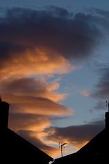 The sky (timbo on the hill) Tags: sunset sky cloud sun silhouette wales twilight nikon dusk dxo d7000