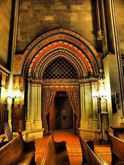 Maccabee chapel, St. Pierre Cathedral, Geneva (M_Strasser) Tags: schweiz switzerland suisse geneva cathedral chapel olympus svizzera genve stpierre genf maccabee stpierrecathedral olympusomdem1 maccabeechapel