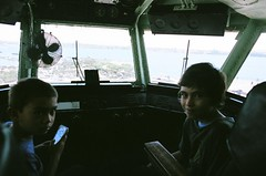 00570006 (andrzejek_ap) Tags: ships navy aircraftcarrier flightdeck ussmidway shipsbridge aircraftcarrierbridge