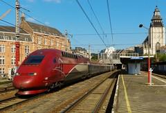 Thalys PBKA 4322 passeert Brussel Kapellekerk (Jeffrey1189) Tags: train bruxelles brussel chapelle trein hispeed sncf hst thalys treinstation hsl nmbs treinstel sncb 4322 pbka kapellekerk