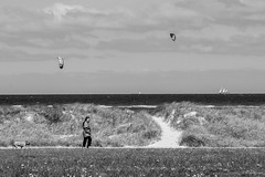 Throw your dreams into space like a kite, and you do not know what it will bring back, a new life, a new friend, a new love, a new country. (mona_dee) Tags: people germany balticsea dike