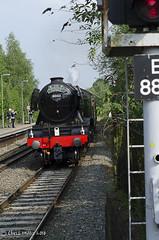 CJM_3231 (cjmillsnun@btinternet.com) Tags: heritage trains hampshire steam locomotive flyingscotsman steamlocomotive romsey nikond7000