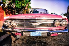 Pink Chevrolet (STH photography) Tags: pink sunset usa chevrolet car rose canon eos la us 60s havana cuba rosa lifestyle voiture american 7d oldtimer impala cuban habana oldie efs 1755 wagen 1755mm havane havanita efs1755 cubant