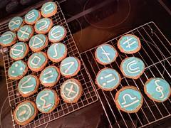 Logic Cookies (steevithak) Tags: phone science math symbols symbolic logic reasoning boolean settheory icedcookies nationaldayofreason propositional logiccookies